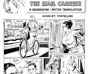 comics Cicciolina - The Mail Carrier, threesome