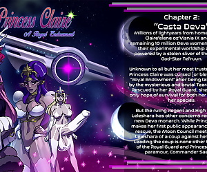 comics Princess Claire 2 - Casta Deva - part 2, threesome , anal  shemale
