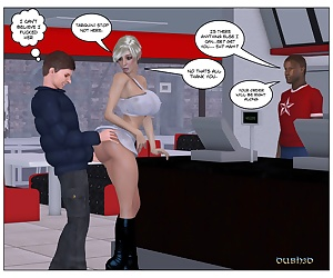 comics Dubh3D- Marie Claude Restaurant, blowjob , 3d  big cock