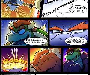 comics Super Mario Brothers- Starwash, blowjob  brother