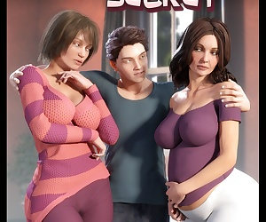 comics NLT Media- Sister's Secret, incest  threesome