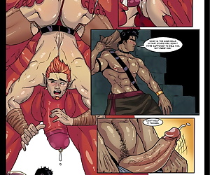 comics Tom Cray- JOX – Treasure Hunter #3, blowjob , anal