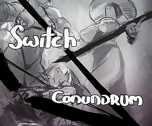 comics Asera- Unforseen Switch Conundrum, group  monster