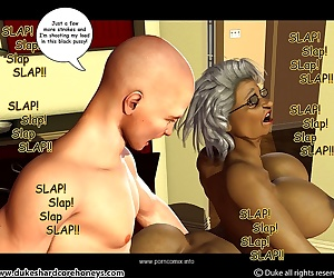 comics Ms Jiggles 3D – Part 6- Duke Honey, blowjob , threesome  interracical