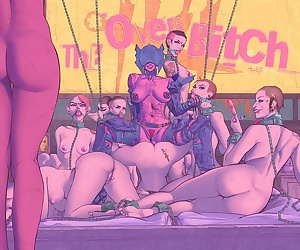 comics TheKite- The Overbitch, bondage  group