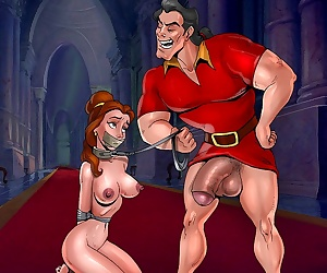 comics ToonBDSM- Beauty and The Beast, bondage , bdsm  big cock