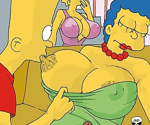comics The Simpsons- Marge Exploited, incest , mom