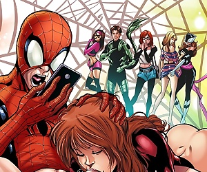 comics Tracy Scops-Ultimate Spider-Man XXX 12.., blowjob , anal