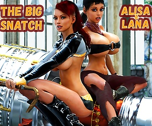 comics Smerinka – The Big Snatch, blowjob , anal