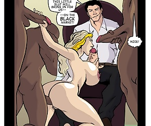 comics Happy Honeymoon - part 2, gangbang  rape