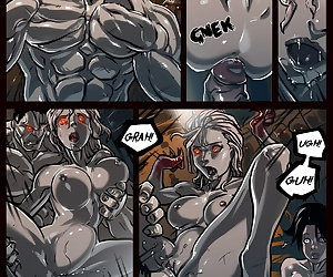 comics Zoey Watch Your Ass - part 2, rape , pregnant