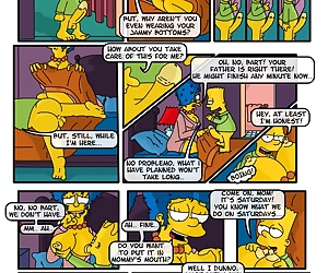 comics A Day In The Life Of Marge - part 2, threesome , incest  mother