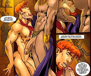 comics The Incredibly Hung Naked Justice 2 -.., yaoi  rape