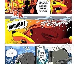 comics Playing With Fire Part 2 - part 2, threesome , furry