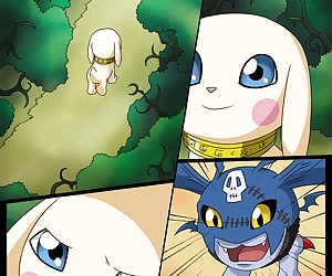 comics Gatomon The Slave, rape , furry