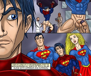 comics Superboy, threesome , yaoi  incest