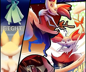 comics Obscene Braixen, furry