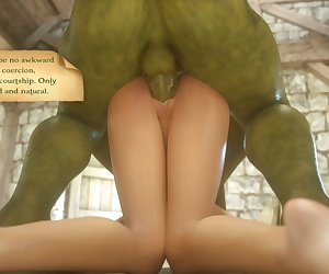 comics Orc House - part 7, 3d