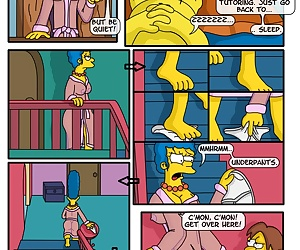 comics A Day In The Life Of Marge, threesome , incest  mother