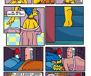 comics A Day In The Life Of Marge, threesome , incest