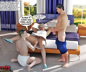 comics Private Love Lessons 1 - part 3, threesome , incest  brother
