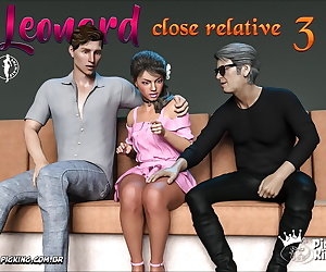 english comics - Close Relative 3, anal , glasses